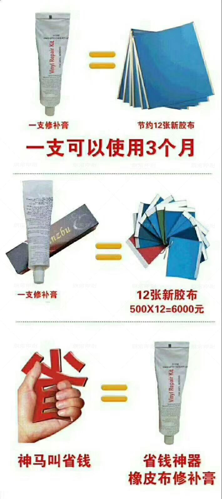 印刷版修补方法