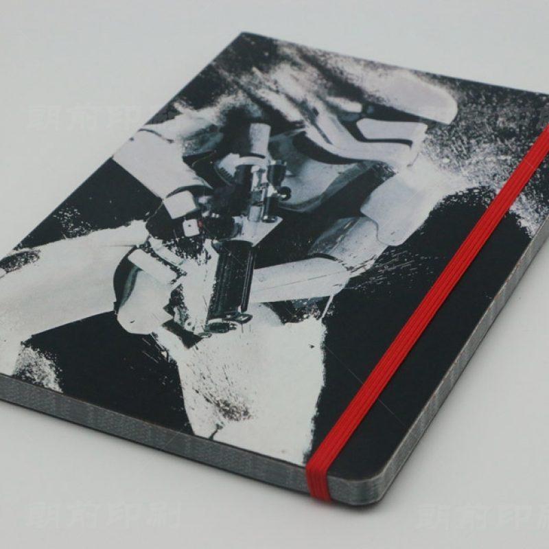 星球大战 方脊PU料平装笔记本印刷