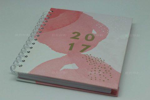 2017 双线圈YO圈精装笔记本印刷