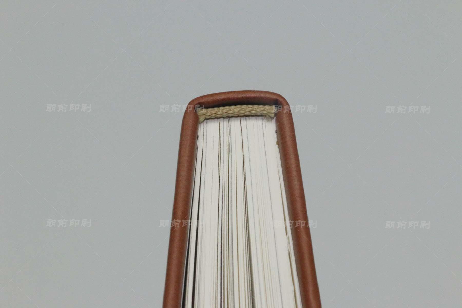40TH PU料皮壳方脊精装书印刷