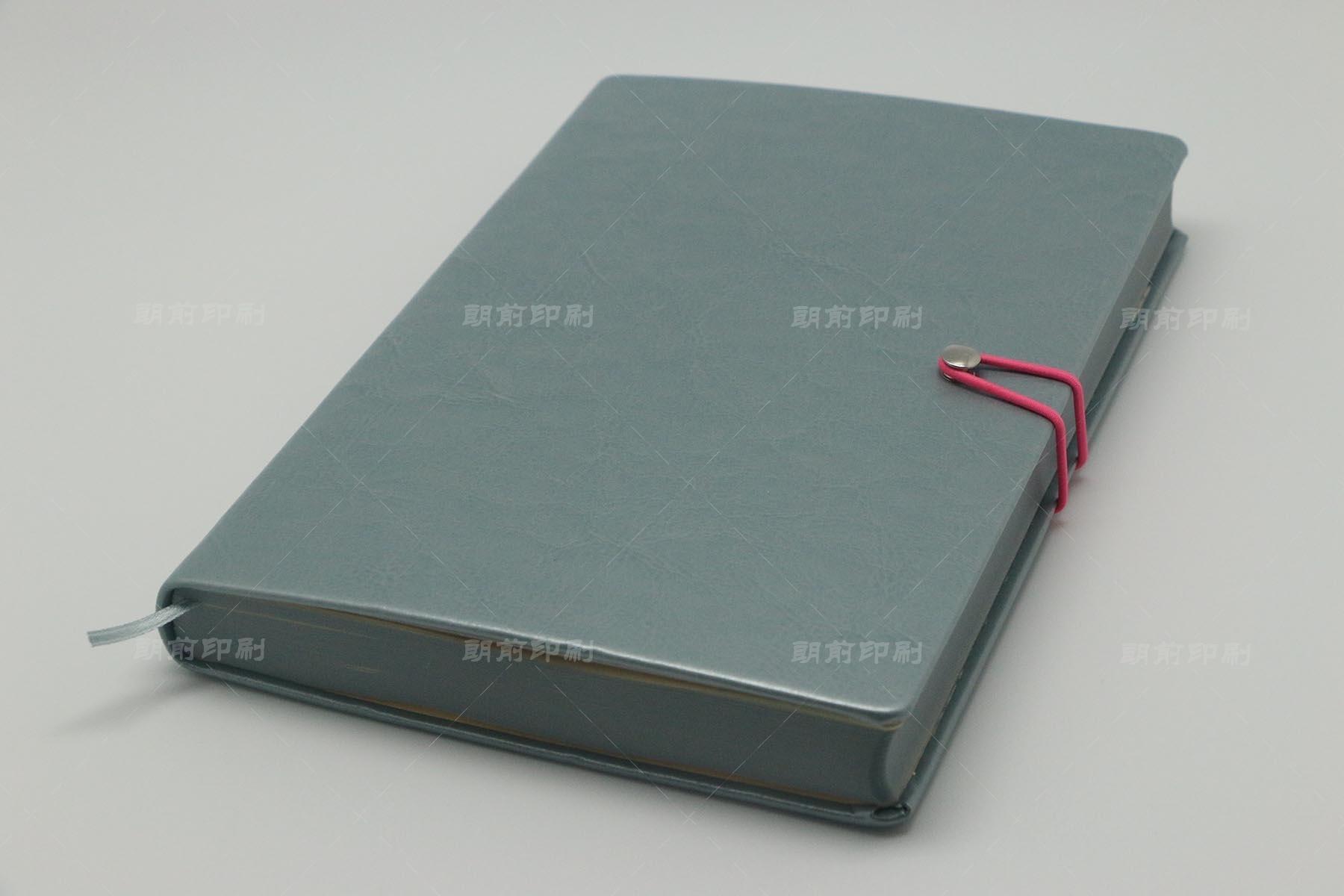 2017 PU料皮壳精装笔记本印刷