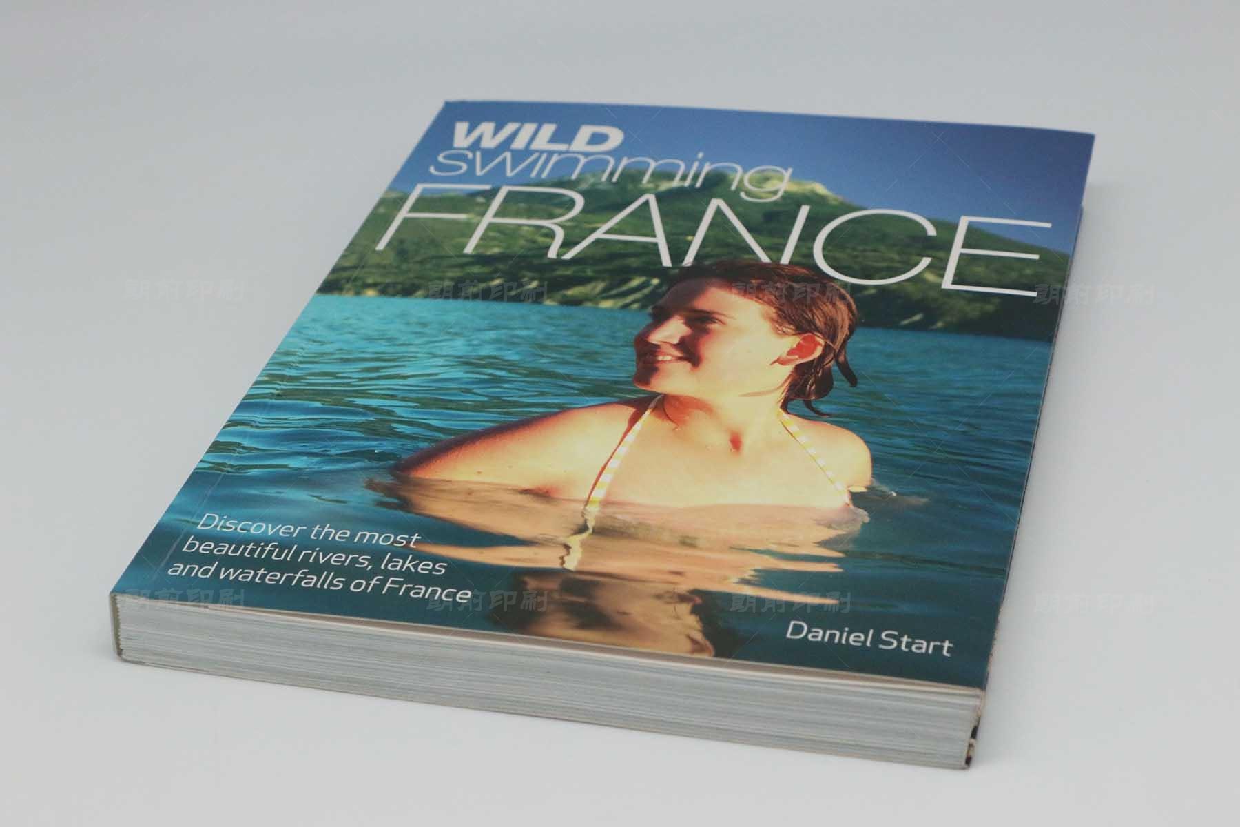 FRANCE 锁线胶装书印刷