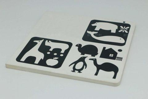 认知动物平装儿童画册印刷