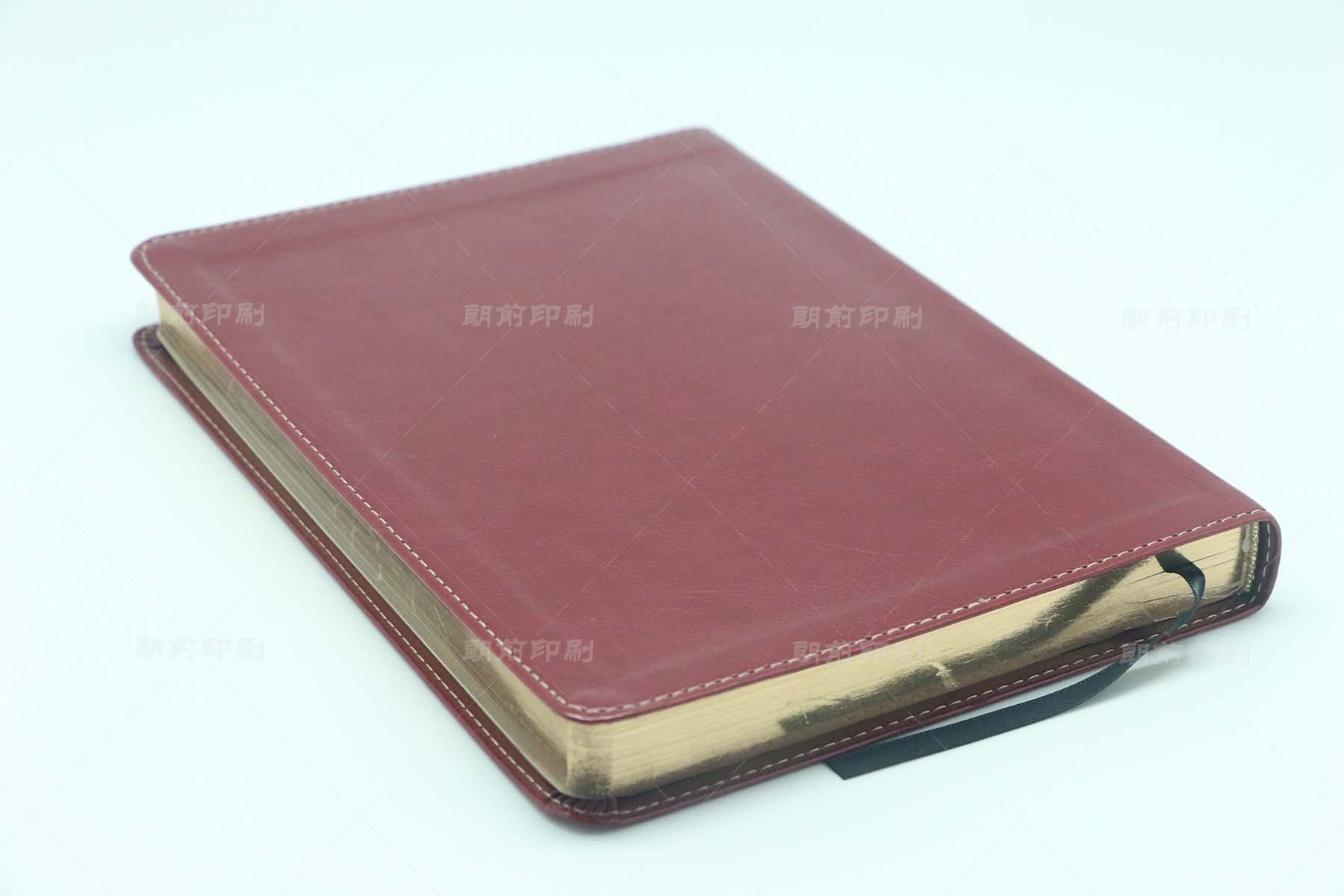 PD PU料软皮精装笔记本印刷