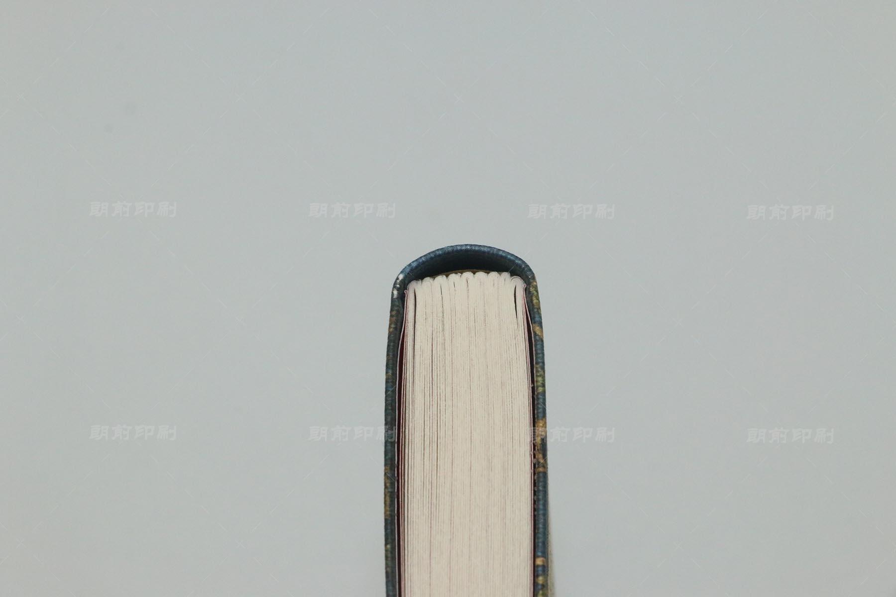 佛的本质 圆脊精装书印刷