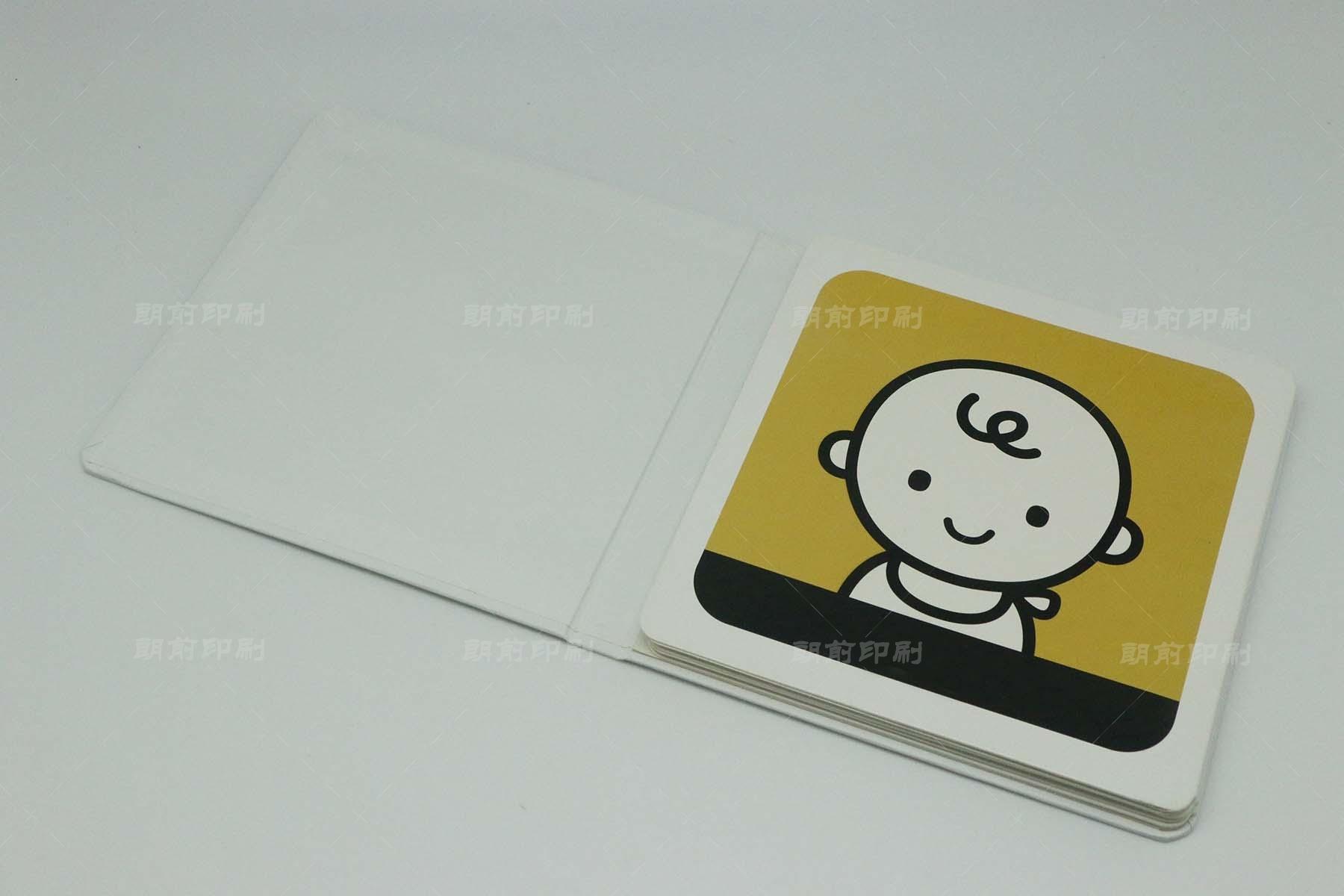 认知事物 精装儿童板仔书印刷