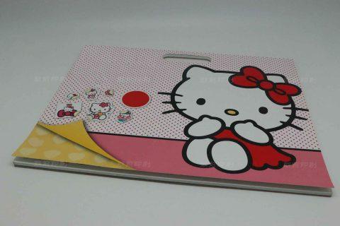Hello Kitty 平装儿童拍头本印刷