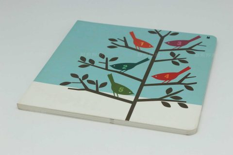 THE BIRD锁线胶装儿童书印刷