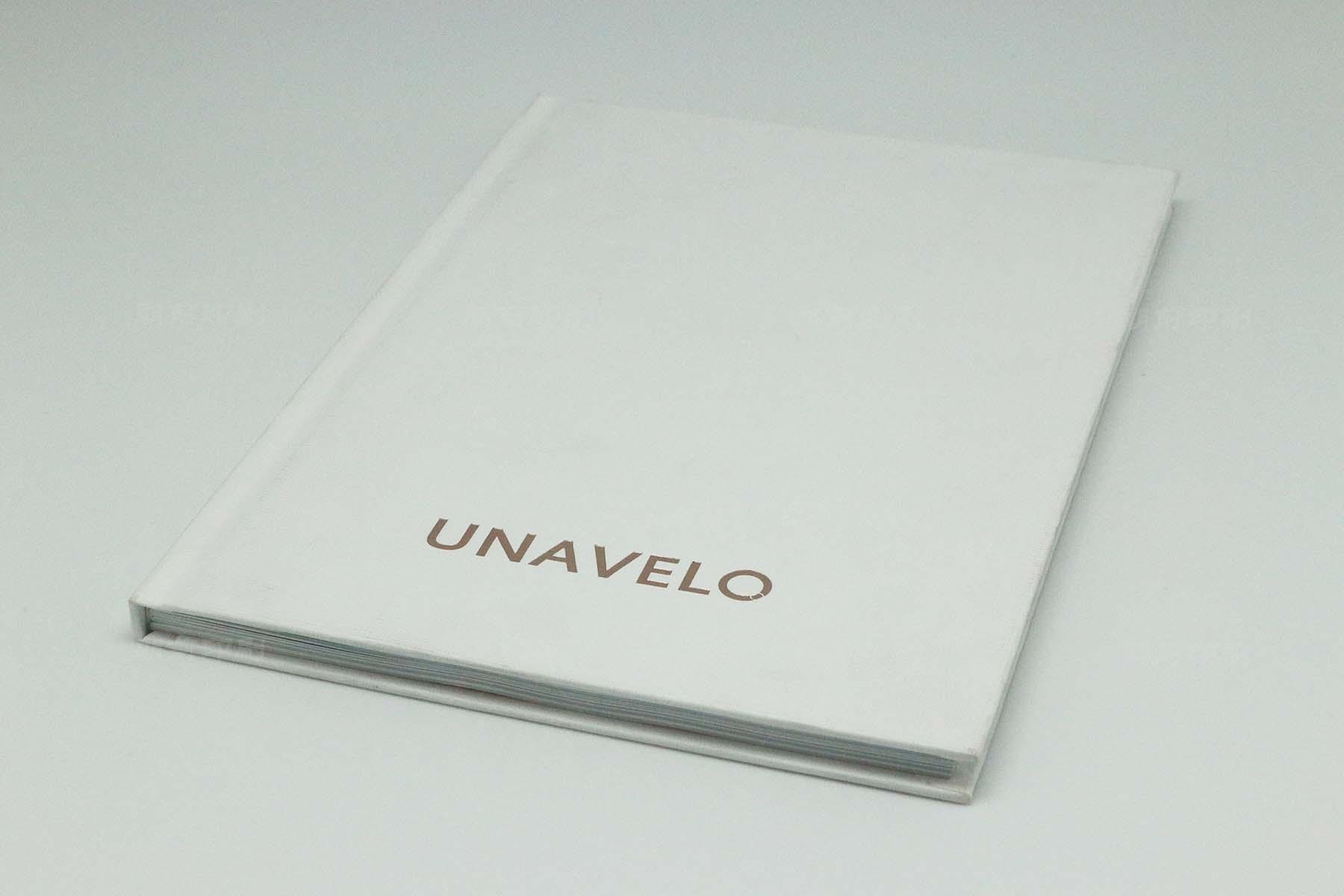UNAVELO 特种纸方脊精装书印刷
