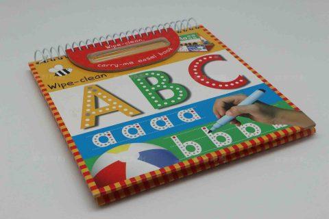 ABC儿童圈装画册印刷