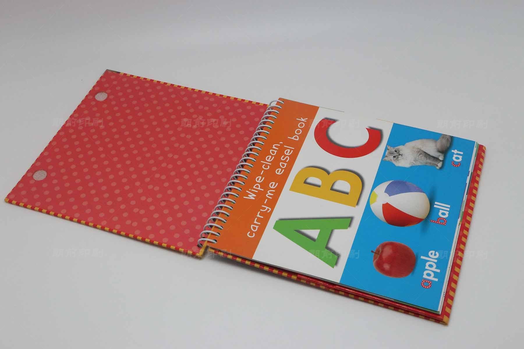 ABC 精装儿童蛇仔书印刷