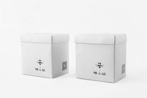 蜂小姐纸盒包装印刷