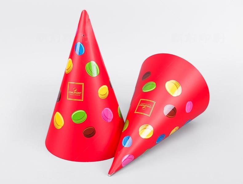食品桶锥形包装印刷