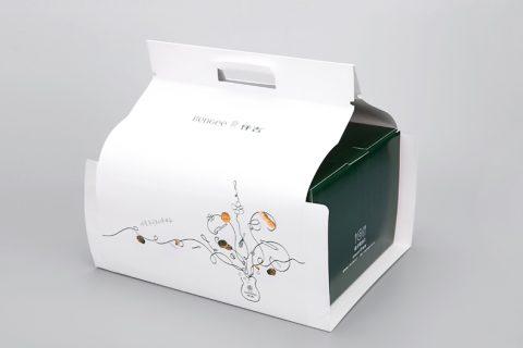 仟吉餐盒纸盒包装印刷