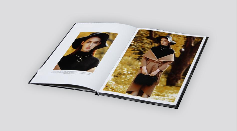 上海印刷厂-- 服装画册印刷