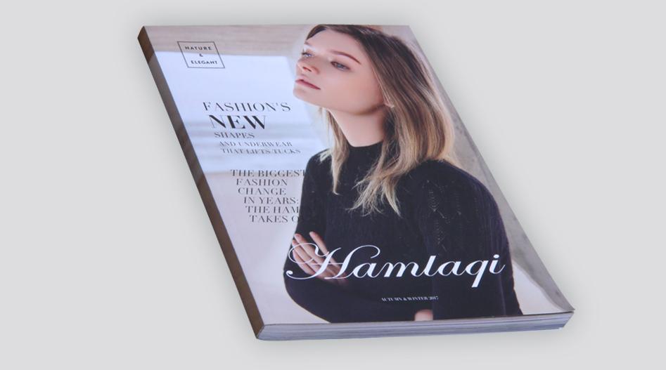 上海印刷厂 服装画册印刷
