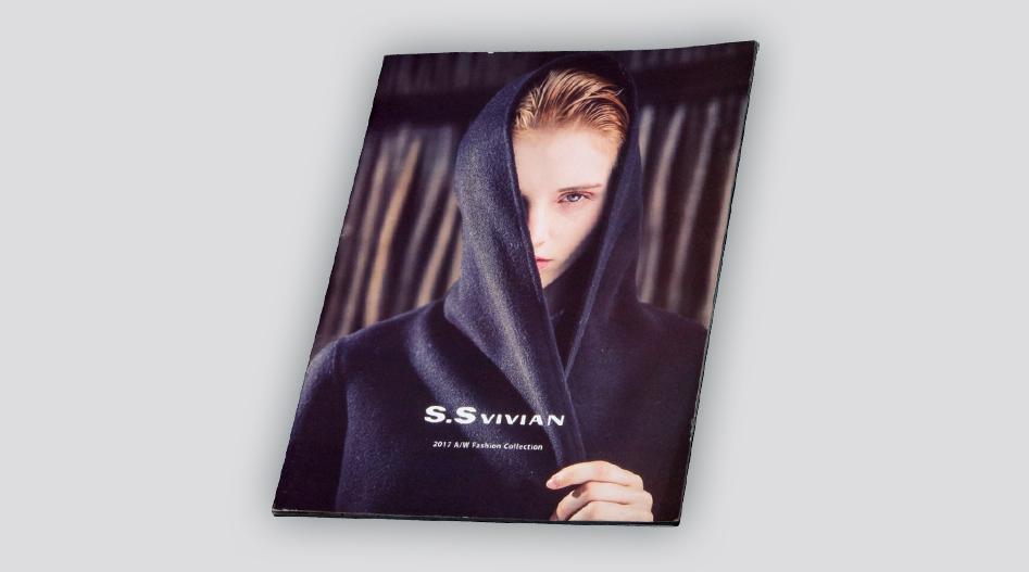 上海印刷厂服装画册印刷