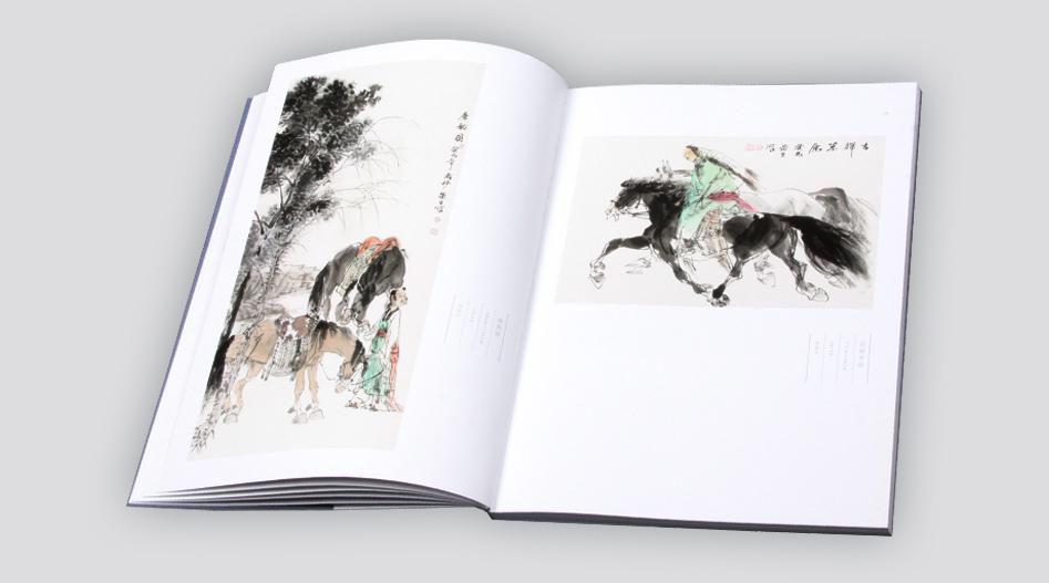 上海印刷厂-国画画册印刷