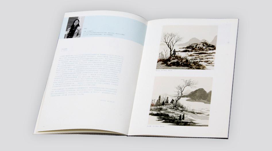 上海印刷公司--国画画册印刷