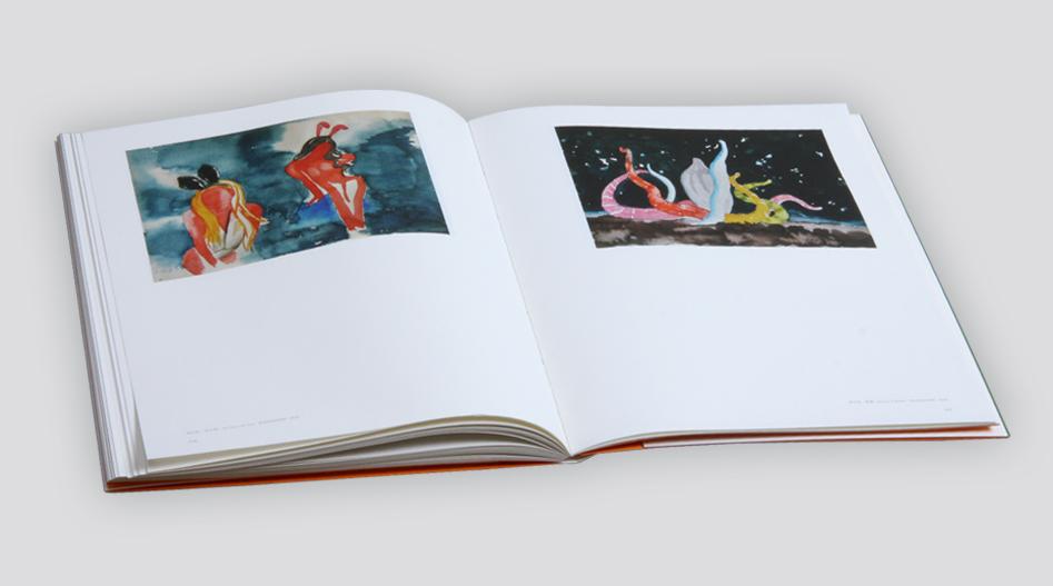 上海印刷厂 油画画册册印刷