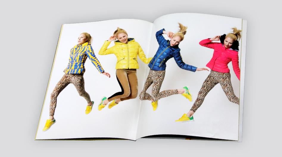 印刷公司-雅丹琳服装画册印刷
